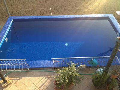 Turbo Betonbecken Schwimmbad Pool selber abdichten beschichten streichen TK21