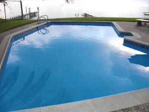 Betonbecken Schwimmbad Pool selber abdichten beschichten ...